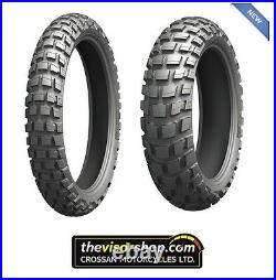 110/80 R19 & 150/70 R17 ANAKEE WILD On/Off Road All Terrain Motorcycle Tyre SET