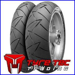 120/70-17 58W & 180/55-17 73W Continental ROAD ATTACK 2 II Motorcycle Tyres