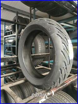 120/70zr17 & 180/55zr17 Michelin Road 5 Tl Motorcycle Tyres Matched Pair