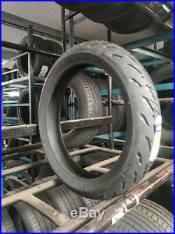 120/70zr17 & 190/55zr17 Michelin Road 5 Tl Motorcycle Tyres Matched Pair