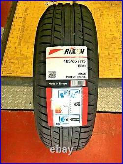185 65 15 Riken Michelin Made Tyres 185/65zr15 88h Road Performance