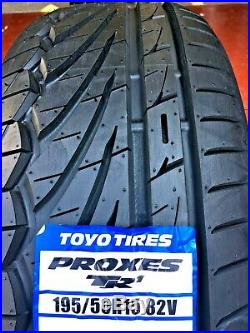 195 50 15 82V TOYO PROXES TR-1 TRACK DAY/ ROAD TYRES 195/50R15 82V x1 x2 x4