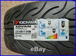225 45 17 91w Yokohama Advan Neova Ad08rs 225/45r17 Track, Road, Race Tyres