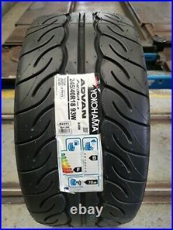 245 40 18 93w Yokohama Advan Neova Ad08rs 245/40r18 Track, Road, Race Tyres