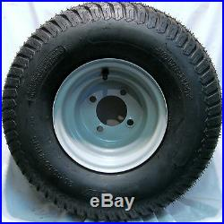 2 20x10.00-8 Turf Tires Wheels Rims Off Road Go Kart Fun Cart Dune Buggy 4-Hole