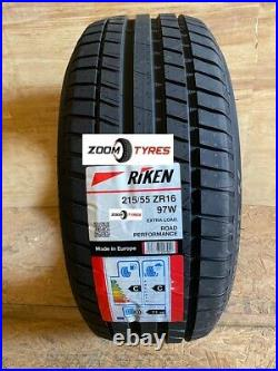 2 X Riken 215 55 16 XL 97w Made By Michelin Tyres Road Performance 2155516