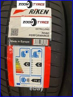 2 X Riken 225 55 16 XL 99w Made By Michelin Tyres Road Performance 2255516