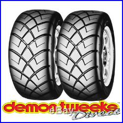 2 x 165/70/10 (1657010) Yokohama A032R Soft Compound Tyres Track Day/Race/Road