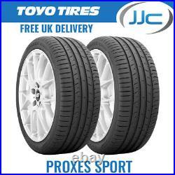 2 x 205/40/17 84W XL Toyo Proxes Sport Performance Road Car Tyres 205 40 ZR17