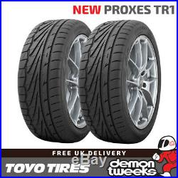 2 x 205/40/17 84W XL Toyo Proxes TR1 (TR-1) Road Tyres 2054017 New T1-R