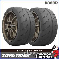 2 x 205/60/13 86V Toyo R888R Road Legal RaceRacingTrack Day Tyres 2056013