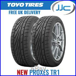 2 x 225/40/18 R18 92Y XL Toyo Proxes TR1 Performance Road Tyres 2254018 New T1-R