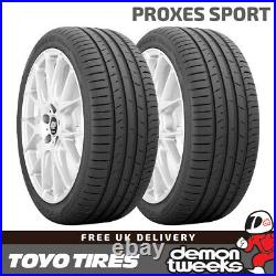 2 x 225/55/17 101Y XL Toyo Proxes Sport Performance Road Car Tyres 2255517