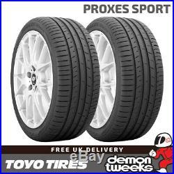 2 x 255/40/17 ZR17 98Y TL XL Toyo Proxes Sport Performance Road Car Tyres