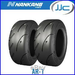 2 x Nankang 225/45/15 87W AR-1 Road Legal Semi Slick Road / Track Tyres 2254515