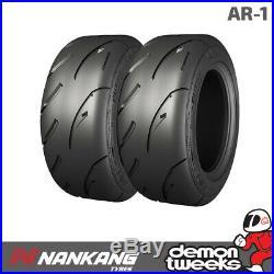 2 x Nankang 225/45/15 87W AR-1 Semi Slick Road / Track Tyres 2254515