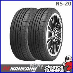 2 x Nankang NS-20 Performance Road Tyres 235 35 R19 91Y XL Extra Load 2353519