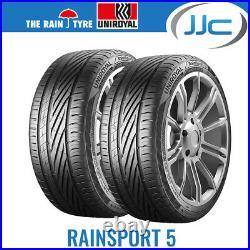 2 x Uniroyal RainSport 5 215/40/17 87Y XL Performance Road Tyres