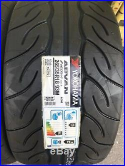 2x 265/35 R18 Yokohama Advan Neova AD08R 93W (AD08R) Track Day/Race/Road