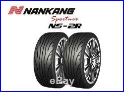 2x Nankang NS-2R Track Day/Race/Road 225/45 R17 94W (180, STREET)