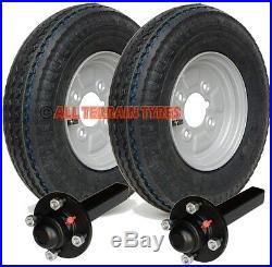 4.80/4.00-8 4 Ply Road Trailer Kit Wheels & Tyres Hubs & Stub Axles 4 PCD 400x8