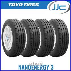 4 x 175/70/13 Toyo Nanoenergy 3 Premium Eco Road Car Tyres 175 70 13 82T