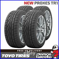4 x 195/50/15 R15 82V XL Toyo Proxes TR-1 (TR1) Road Tyres 1955015 New T1-R