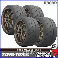 4 x 205/50/15 86W XL Toyo R888R Road Legal RaceRacingTrack Day Tyres 2055015
