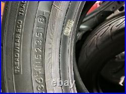 4 x 205 50 R15 86V Yokohama Advan Neova AD08R (NOT RS) Tyres Track Day Road