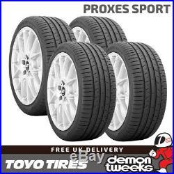 4 x 225/40/18 92Y XL Toyo Proxes Sport Performance Road Car Tyres 2254018