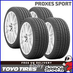 4 x 225/55/17 101Y XL Toyo Proxes Sport Performance Road Car Tyres 2255517