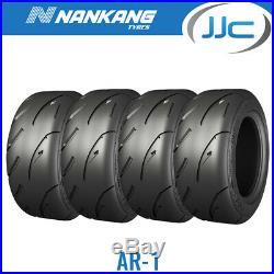 4 x Nankang 185/60/13 80V AR-1 Road Legal Semi Slick Road / Track Tyres 1856013