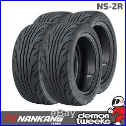 4 x Nankang 185 60 R 14 86V XL NS-2R Semi Slick Road / Track Day Tyres