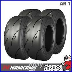 4 x Nankang 205/50/15 89W AR-1 Semi Slick Road Legal Track Day Tyres 2055015