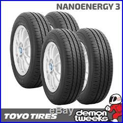 4 x Toyo Nanoenergy 3 Premium Eco Road Car Tyres 155 70 13 75T 1557013