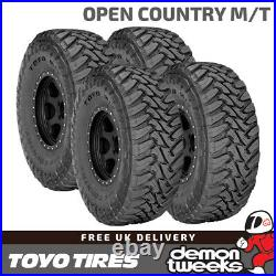 4 x Toyo Open Country M/T Off Road / Mud / Snow 4x4 Tyres 255 85 16 123P