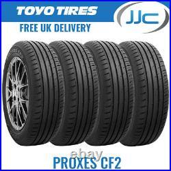 4 x Toyo Proxes CF2 185 60 13 R13 (185/60/13) 80H TL Road Tyres 1856013