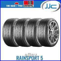 4 x Uniroyal RainSport 5 225/40/18 92Y XL Performance Road Tyres
