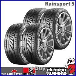 4 x Uniroyal RainSport 5 Performance Road Tyres 225 45 17 91Y