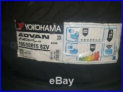 4x 195 50 15 82v Yokohama AD08RS (AD08-RS) Tyres Track Day/Race/Road 195/50/15