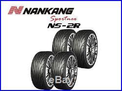 4x Nankang NS-2R Track Day/Race/Road 225/45 R17 94W (180, STREET)