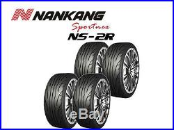 4x Nankang NS-2R Tyres Track Day/Race/Road 225/40 R18 92Y (180, STREET)