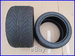 ATV Quad E4 pair of road legal tyres tires 270/30-14 low profile
