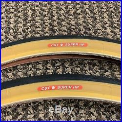 Bicycle Tires 27 X 1-1/4 Super HP Fit Schwinn Continental La Tour Road Bikes New
