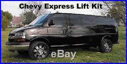 Chevy Express Lift Kit Van Leveling Front GMC Savana 2003-2019 2wd Chevrolet