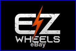 EZwheels 26 Green Fat Tyre Electric off-road style e-bike