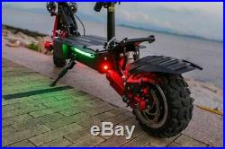 Electric Off-road Scooter 5600W Dual Motor 30Ah with 11 Tires NEW MODEL