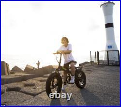 Fat Tyre Folding Electric Bike Motor 48V Battery 250W E-Bike UK Road Legal 20