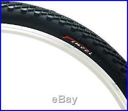 Fincci Pair 26 x 1.95 Antipuncture Tyres 60 TPI for Road MTB Bike Bicycle