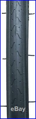 Fincci Pair 700 x 23c Tyres Antipuncture for Cycle Race Road Racing Bicycle Bike